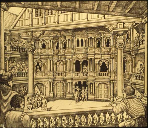elizabethan theatre audience - photo #3